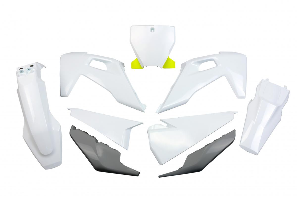 Complete body kit - oem 20-21 - Husqvarna - REPLICA PLASTICS - HUKIT622-999X - UFO Plast