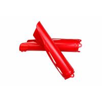 Fork slider protectors - red 070 - Honda - REPLICA PLASTICS - HO04695-070 - UFO Plast
